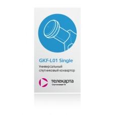 Универсальный спутниковый конвертор GKF-L01 Single
